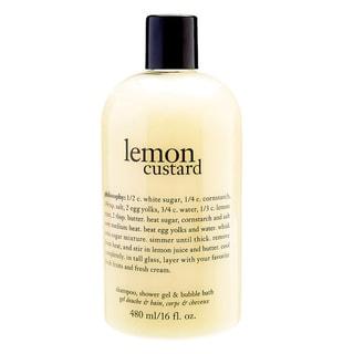 Philosophy Lemon Custard 16.ounce Shampoo, Shower Gel Bubble Bath