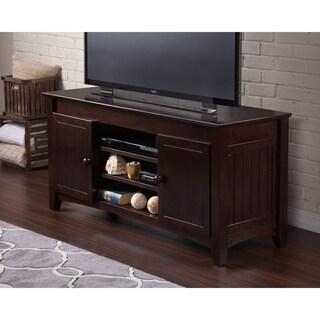 Atlantic Nantucket Mission-style Espresso Wood 50-inch TV Console