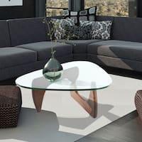Hans Andersen Home Noguchi Style Coffee Table in Walnut finish