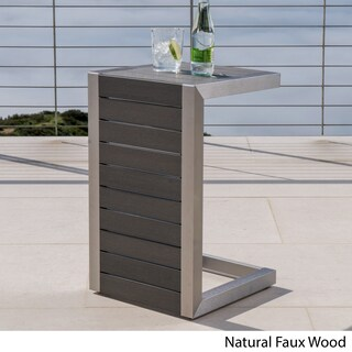 Cape Coral C-Shaped End Table by Christopher Knight Home