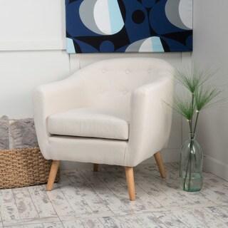 Lorelai Metroplolitan Fabric Club Chair by Christopher Knight Home