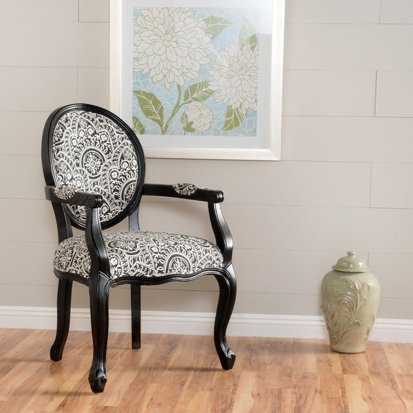 Shop Woodridge Paisley Patterned Fabric Arm Chair By