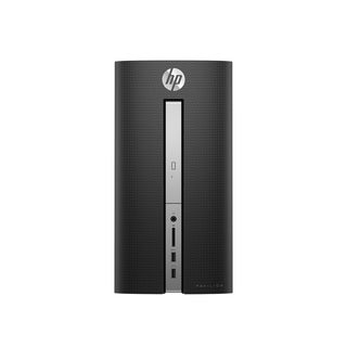 HP Pavilion 570-p000 570-p010 Desktop Computer - Intel Core i3 (7th G