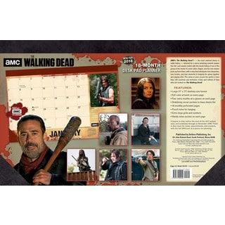 The Walking Dead Amc 2018 Desk Pad Planner (Calendar)