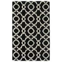 Cosmopolitan Black Trellis Rug (8'0 x 11'0) - 8' x 11'