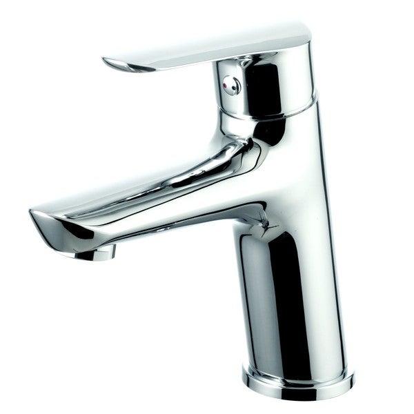 EVIVA Serin® Single Handle (Lever) Bathroom Sink Faucet (Brushed Nickel)