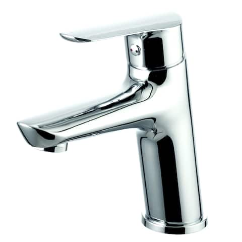 EVIVA Serin® Single Handle (Lever) Bathroom Sink Faucet (Brushed Nickel)