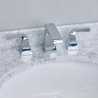 EVIVA Butterfly Widespread (2 Handles) Bathroom Faucet (Chrome)