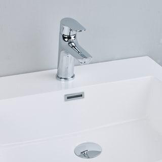 EVIVA Serin Single Handle (Lever) Bathroom Sink Faucet (Chrome)