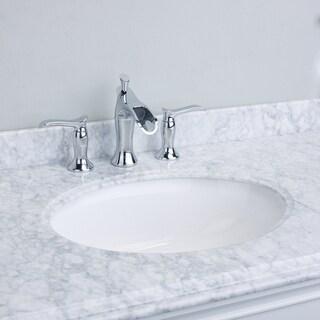 EVIVA Swan Luxury Water-fall Widespread 3-hole Bathroom Sink Faucet