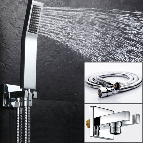 EVIVA Pro Full Chrome Modern Luxury Shower-Head/Handheld & Sprayer