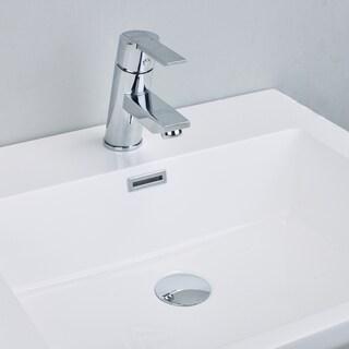 EVIVA Midtown Single Handle (Lever) Bathroom Sink Faucet (Chrome)