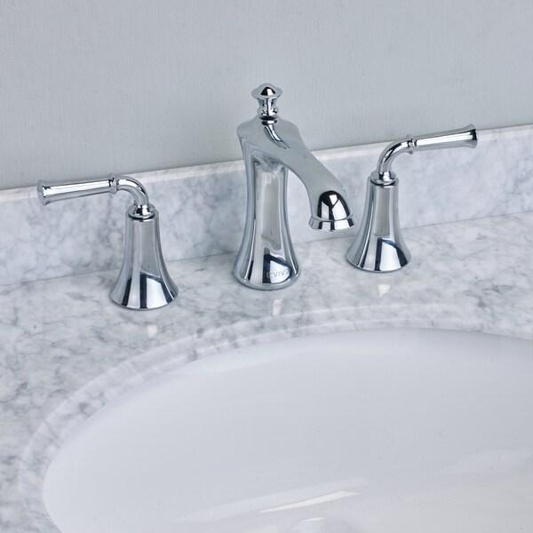 EVIVA Oceanbreeze Widespread (2 Handles) Bathroom Faucet (Chrome ...