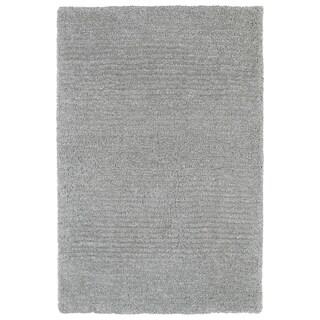 """Fluffy Grey Shag Rug - 3'6"""" x 5'6"""""""