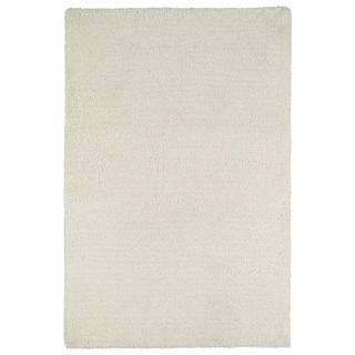 Fluffy White Shag Rug (3'6 x 5'6)