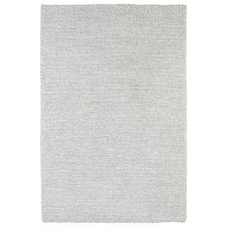 Fluffy Silver Shag Rug (5'0 x 7'6) - 5' x 7'6