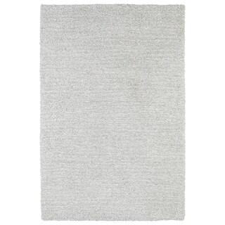 Fluffy Silver Shag Rug (9'0 x 12'0)