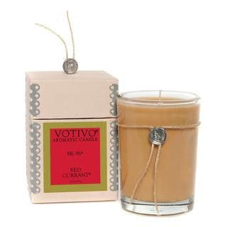 Votivo Aromatic Scented Red Currant Natural Soy Wax Candle