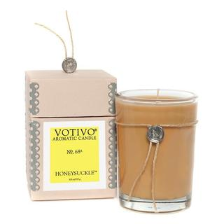 Votivo Aromatic Scented Honeysuckle Soy Wax Candle