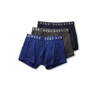 Boss Hugo Boss Men's 3-Pack Cotton Boxer Trunks