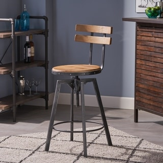 Link to Fenix Firwood Antique 26-inch Barstool by Christopher Knight Home Similar Items in Dining Room & Bar Furniture