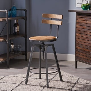 Fenix Firwood Antique 26-inch Barstool by Christopher Knight Home