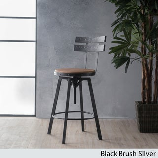 Alanis Firwood Antique 26-inch Bar Stool by Christopher Knight Home