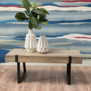 Abitha Wood Coffee Table by Christopher Knight Home