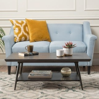 Lathom Wood Mid-century Coffee Table by Christopher Knight Home