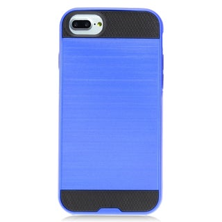 Insten Hard Snap-on Dual Layer Hybrid Brushed Case Cover For Apple iPhone 7