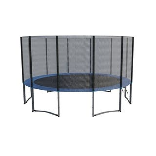 ExacMe 16FT Trampoline w/ safety pad & Enclosure Net & ladder COMBO|https://ak1.ostkcdn.com/images/products/14030709/P20649162.jpg?impolicy=medium