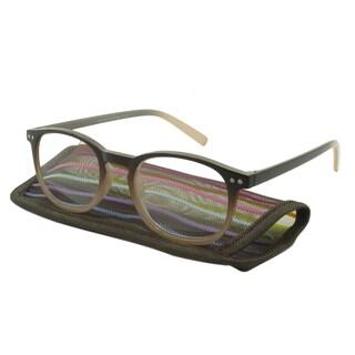 UrbanSpecs SI25-Brn-1.25 Reading Glasses
