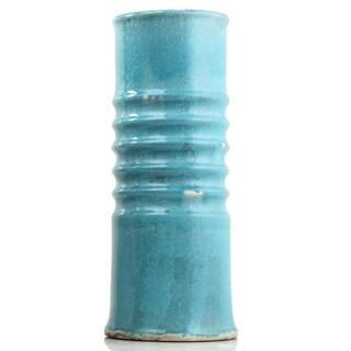 IMPULSE! Sienna Blue Clay Large Vase