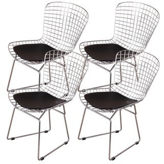 A.R.T. Furniture MLF Harry Bertoia Wire 4-piece Side Chair Set