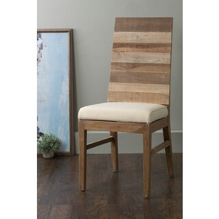 East At Main's Cantril Brown Square Teakwood Dining Chair