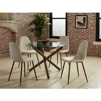 Strick & Bolton Louis 4-piece Dining Chair Set