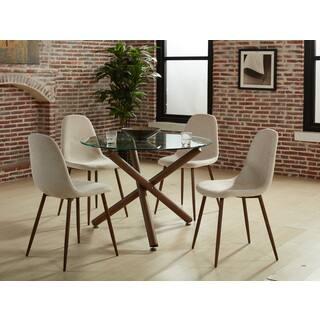 Strick Bolton Louis 4 Piece Dining Chair Set