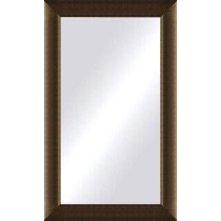 Oversized Light Bronze Framed Mirror