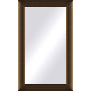 Oversized Light Bronze Framed Mirror