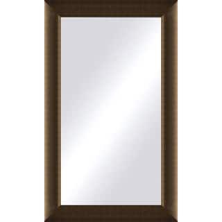 oversized light bronze framed mirror - Wood Frame Mirror
