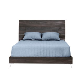 Modern Life Sophia Matte Smoked Walnut California King-size Bed