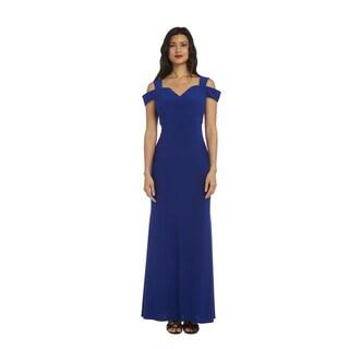 Nightway Women's 1224 Cold-shoulder Gown