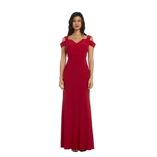 Nightway Women's 1224 Cold-shoulder Gown