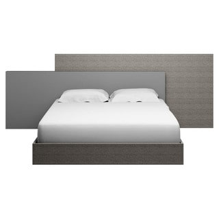 Modern Life Stella Matte Grey Queen Bed