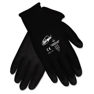 Memphis Ninja HPT PVC coated Nylon Gloves Large Black Pair