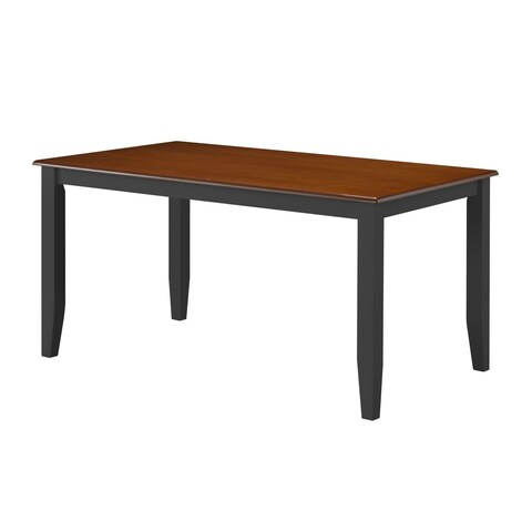 Boraam Bloomington Collection Cherry Contemporary Dining Table