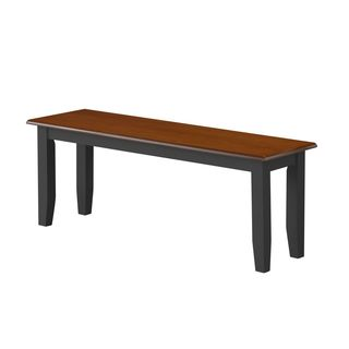 Boraam Bloomington Collection Contemporary Wood Dining Bench