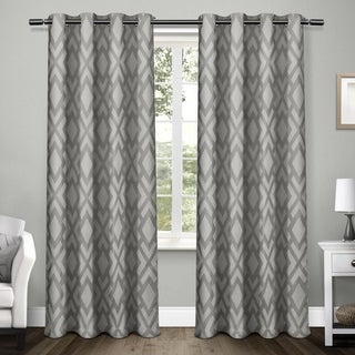 ATI Home Easton Thermal Woven Blackout Grommet Top Curtain Panel Pair (More options available)