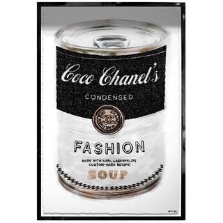 Oliver Gal 'Fashion Soup' Framed Art