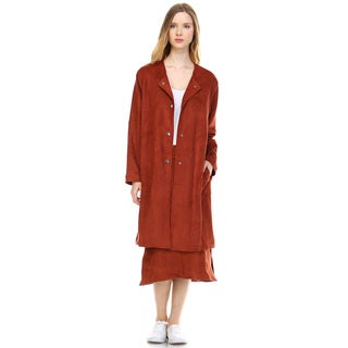 Women's Ulanda Suede Coat
